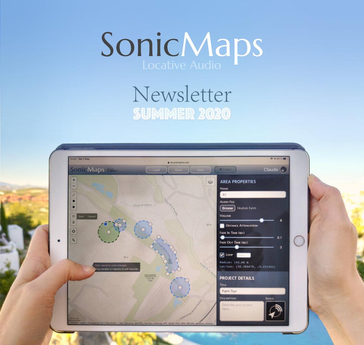SonicMaps running on iPad